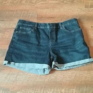 New York & Company soho jean  shorts